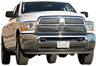 EAG Billet Grille Upper Grill Insert Front Overlay Aluminum for 10-12 Dodge Ram 2500