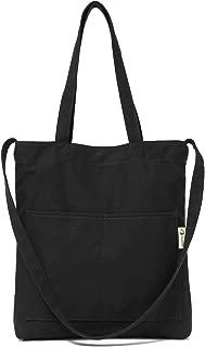Canvas Tote Bag Shoulder Bag Crossbody Bag Lightweight For Men And Women