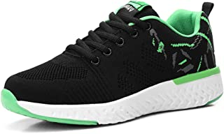 PAMRAY Womens Tennis Shoes Running Athletic Sneakers Sports Gym Jogging Lightweight Fashion Mesh Walking Fitness US 4.5-9.5