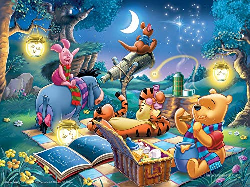 Winnie The Pooh Tigger Star Puzzles Rompecabezas Juego De Madera De 1000 Piezas Para Adultos Niños Juguetes Decoración Del Hogar Regalos De Cumpleanos   75 * 50 Cm