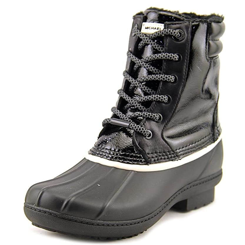 コンベンション旋律的完璧MICHAEL Michael Kors Womens Easton Bootie Closed Toe Rainboots