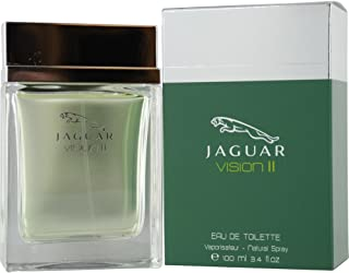 Jaguar Vision II Eau De Toilette Spray for Men, 3.4 Ounce