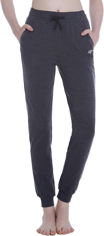 EZRUN Women's Sweatpants Joggers Pants Lounge Workout Walking Yoga Sweat Pants for Women with Pockets