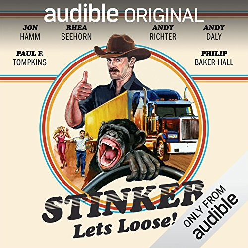 Stinker Lets Loose!                   By:                                                                                                                                 Mike Sacks,                                                                                        James Taylor Johnston                               Narrated by:                                                                                                                                 Jon Hamm,                                                                                        Eric Martin,                                                                                        Andy Richter,                   and others                 Length: 5 hrs and 53 mins     1,056 ratings     Overall 3.6