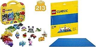 レゴ(LEGO) クラシック アイデアパーツ<収納ケースつき> 10713 & クラシック 基礎板(ブルー) 10714