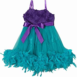 wenchoice Baby Blue /& White Trim Pettiskirt Girls