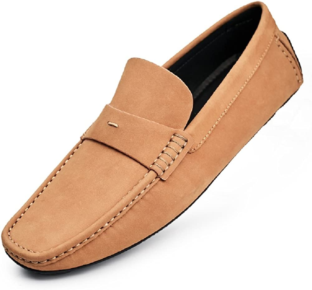 Leisure Men's Suede Leather Brand new Shoes Comfort Slip-o List price Moccasin Simple