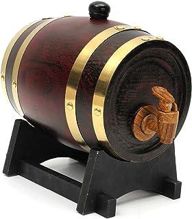 1.5L Barril Cerveza Whisky Ron Puerto Barril Barril De Madera Bar De Vinos Hotel Restaurante Exposición Familiar Elaboración