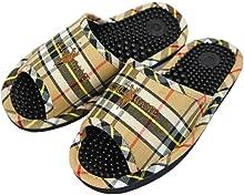 健康サンダル 足ツボ O脚防止サンダル 大きめサイズ 約26.5cmまで 日本製 ブラウン