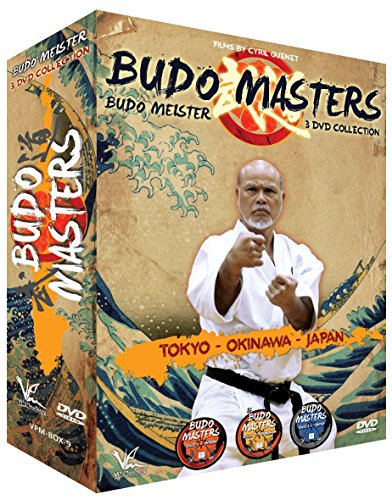 3 DVD Box Collection Budo Meister - TOKYO - OKINAWA - JAPAN