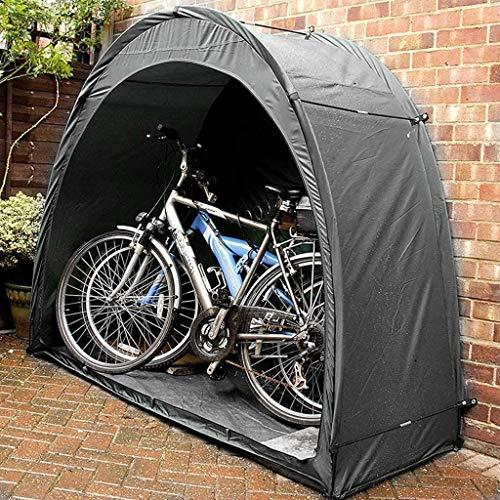 Tienda de cobertizo para bicicletas Asegura y almacena Cubierta de cobertizo para tienda de bicicletas, Resistente al agua y al polvo Refugio con diseño de ventana para jardín de casa al aire libre
