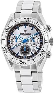 ランカスター 腕時計 イタリアブランド クロノグラフ OLA0500SL/BL [並行輸入品]