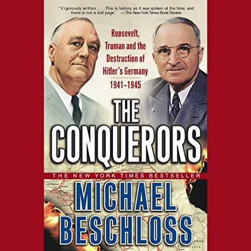The Conquerors audiobook cover art