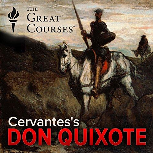 Cervantes's Don Quixote audiobook cover art