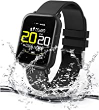 Celestech R6 Flip Color OLED Waterproof Fitness Band and Activity Tracker with Heart Rate Sensor, BP Monitor, SP02 Monitor, Remote Camera Operation and Detachable Strap