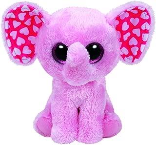 Ty Sugar Elephant Plush, Pink, Regular