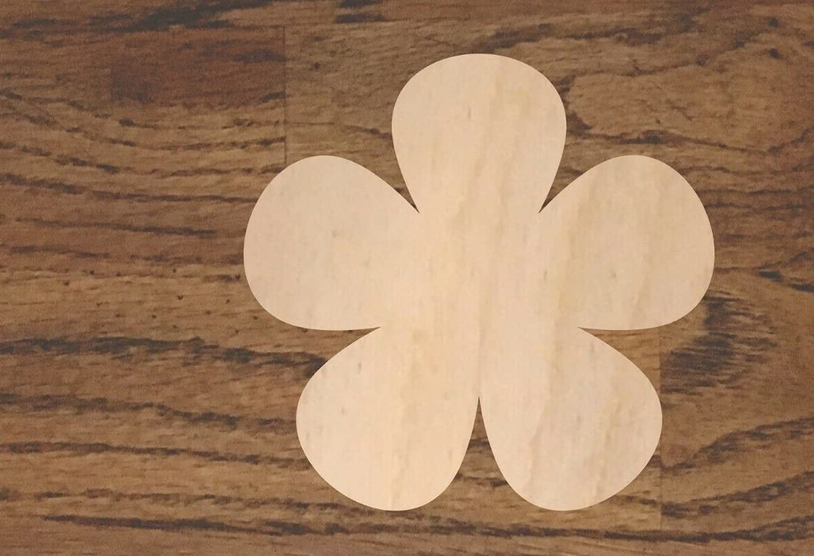 1 Pc of Flower New popularity Wood Cutout Flowers Gardening S Credence Cut Laser