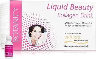 LIQUID BEAUTY Drink collageen, met Verisol, drinkbare schoonheid, met collageenpeptiden, voor een mooie en jong uitziende ...