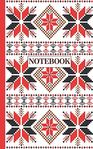 Learn More About NOTEBOOK: Ruled pages - 5 x 8 inches - 100 pages - My Fallahi Cross stitch Embroide...