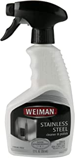 Weiman Stainless Steel Cleaner and Polish, 355 ml