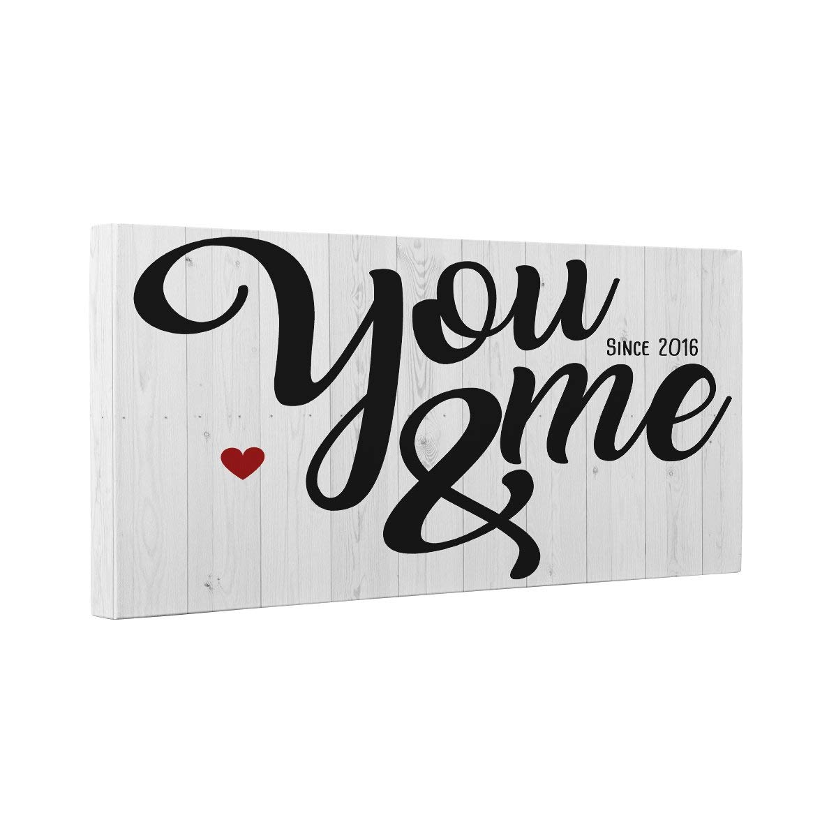You Wholesale Brand new and Me Since Wall Year Canvas Art