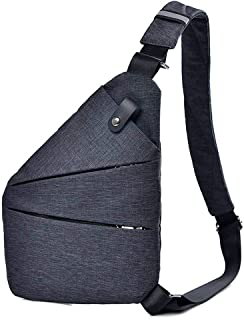 COMVIP 2Styles Lightweight Casual Daypack Adjustable Chest Shoulder Bag Backpack