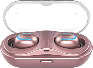 Bluetooth Earbuds,NENRENT Q13 TWS True Wireless Earbuds, Bluetooth 5.0 Earpieces with Charging Case HD Stereo Sound 16H Playtime,Bluetooth Wireless Headphones W/Built in Mic (Comfy & Fast Pairing)