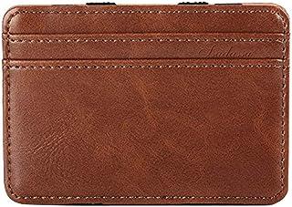 XCSOURCE Portefeuille Magique Porte Monnaie Porte-Cartes de cr/édit Bourse Magic Wallet Billfold Orange MT180