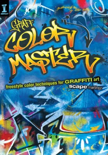 GRAFF COLOR MASTER Freestyle Color Techniques for GRAFFITI Art product image