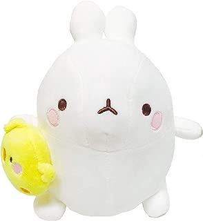 Molang and Piu Piu Toys Soft Cushion Stuffed Animal Plush Rabbit Toy 9.8 inches