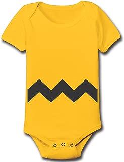 Charlie Brown Chevron Stripe Halloween Costume Baby One Piece