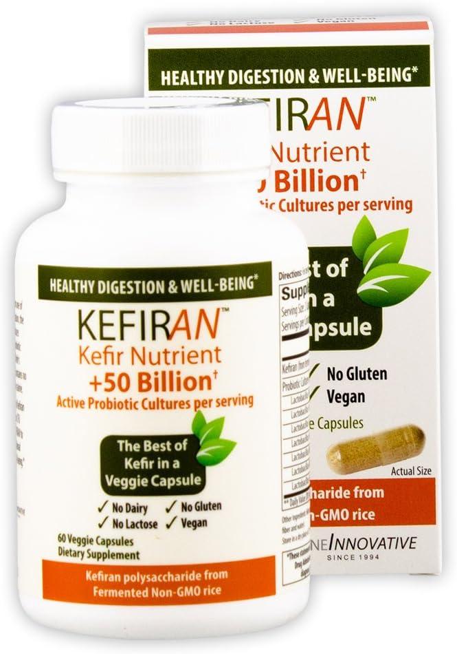 お買い得品 Lane Innovative - Kefiran Kefir Nutrient ◆在庫限り◆ + 50 Active Billion Pr