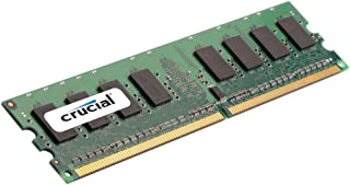 Crucial 1GB Single DDR2 1066MHz (PC2-8500) CL7 Unbuffered UDIMM 240-Pin Desktop Memory CT12864AA1067