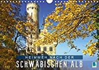 Heimweh nach der Schwaebischen Alb (Wandkalender 2021 DIN A4 quer): Die Schwaebische Alb - Hochebene in Baden-Wuerttemberg (Monatskalender, 14 Seiten )