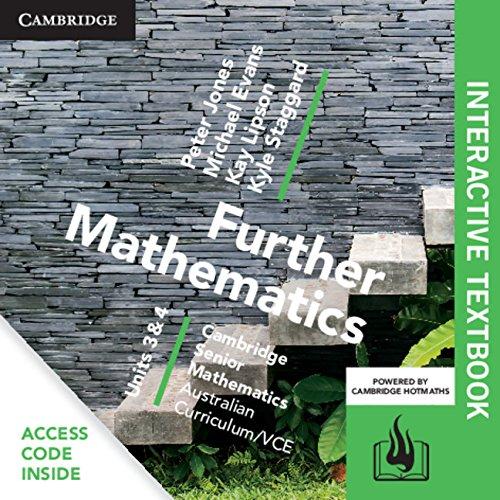 Csm Vce Further Mathematics, Units 3 and 4 Digital Bundle - Interactive Textbook + Hotmaths