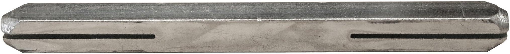 Alpertec 32230810K1 vierkante stift 8x105mm verzinkt bevestigingspen voor deurkrukken deurbeslagen nieuw