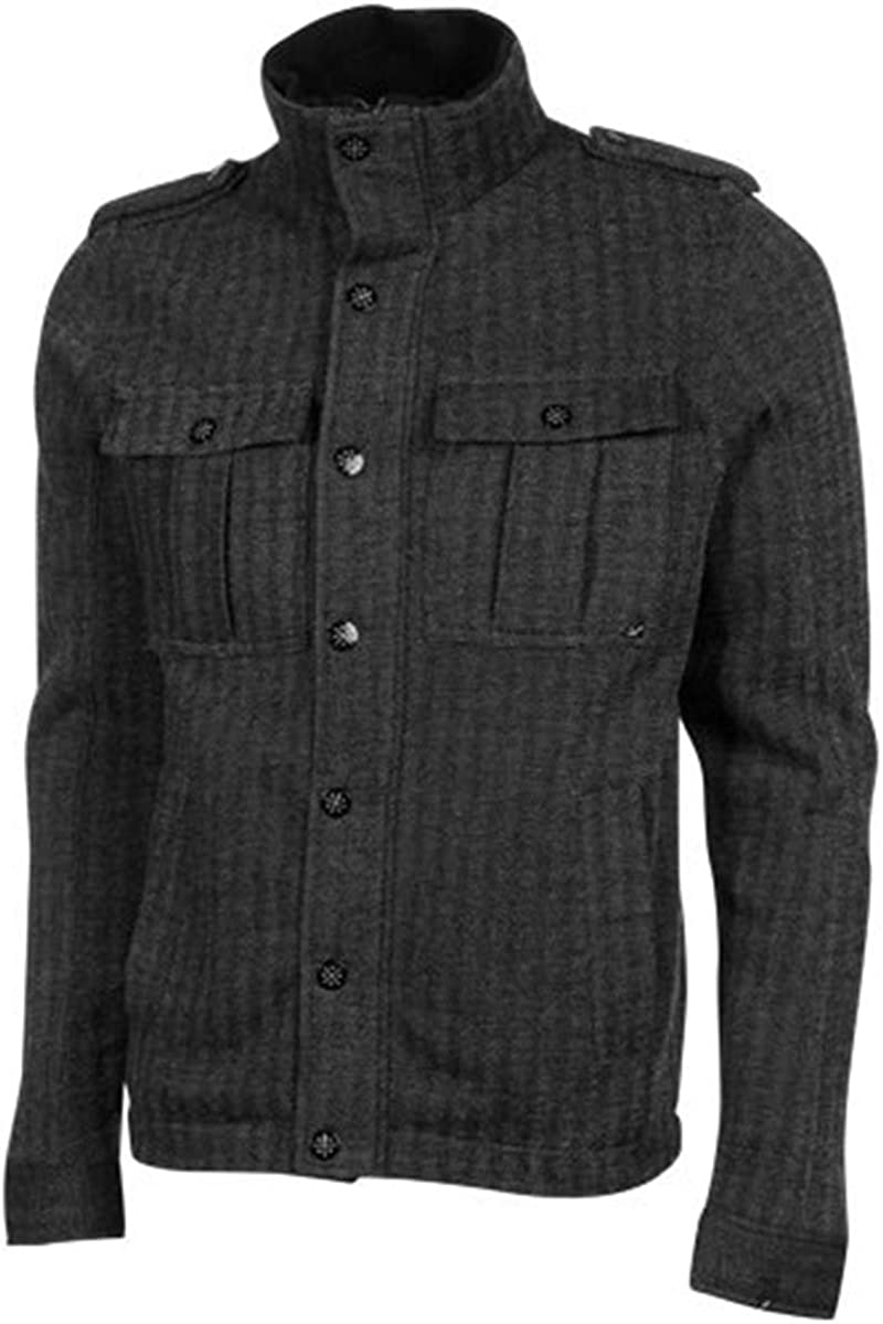 Lost Men's Easy-to-use Road's End Medium Large discharge sale Jackets Black