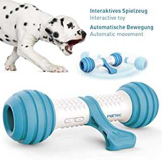 Hueso de juguete interactivo de PetTec   Juguete para perros   A batería para perros, gatos y cachorros   Resistente a los mordiscos y robusto con control automático (Play Bone)
