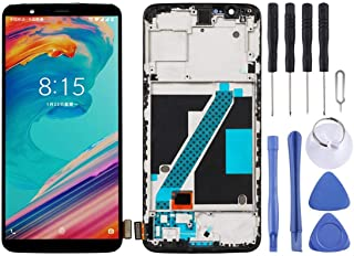 SHUHAN LCD Screen Phone Repair Part LCD Screen and Digitizer Full Assembly with Frame for Oneplus 5T A5010 Mobile Phone Ac...