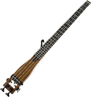 Anygig Bass String Backpacker Portable Traveler 4 Strings Travel Practics Guitar