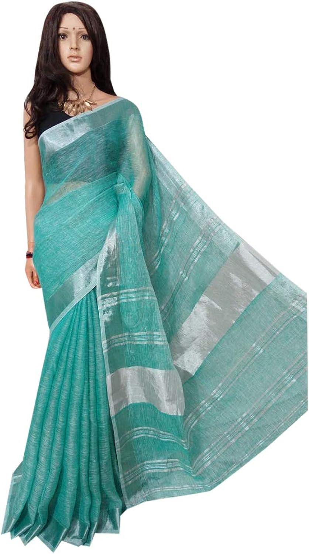 Indian Saree Ethnic Pure Handloom Sari Designer Collection Sari Party Formal Women Wear 109a