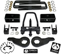 """TORCH 3"""" Front 2"""" Rear LIFT Kit For 1999-2007 Chevy Silverado GMC Sierra 1500 4X4 4WD Tool and Shock Extenders"""