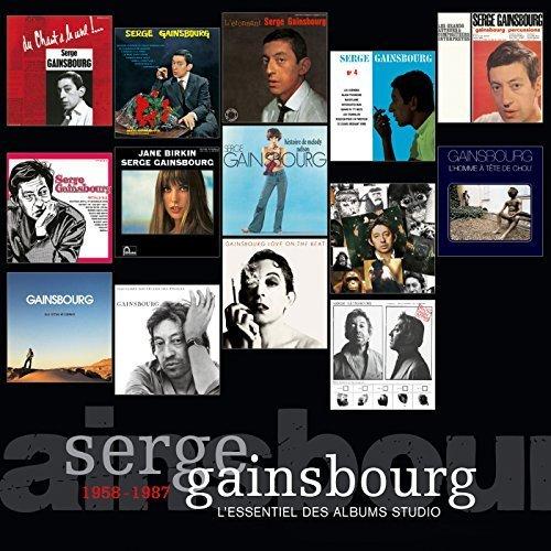 L'Essentiel Des Albums Studio 1958 - 1987 Box set, Import Edition by Gainsbourg, Serge (2011) Audio CD