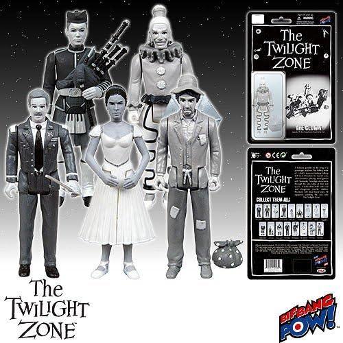 buena reputación The Twilight Zone 3 3 3 3 4-Inch Action Figures Series 3 Set of 5 by Twilight Zone  precio razonable