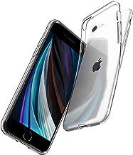 【Spigen】 iPhone SE ケース [第2世代] / iPhone8 / iPhone7 対応 新型 TPU ソフトケース 傷防止 レンズ保護 超薄型 超軽量 Qi充電 ワイヤレス充電 クリア SE2 アイフォンSE (2020年モデル) アイフォン8 アイフォン7 カバー シュピゲン リキッド・クリスタル 042CS20435 (クリスタル ・クリア)