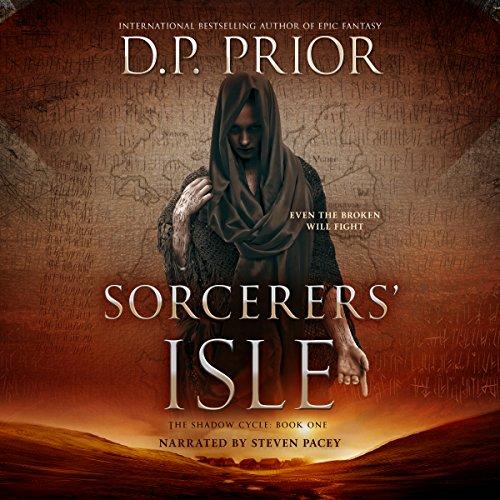Sorcerers' Isle audiobook cover art