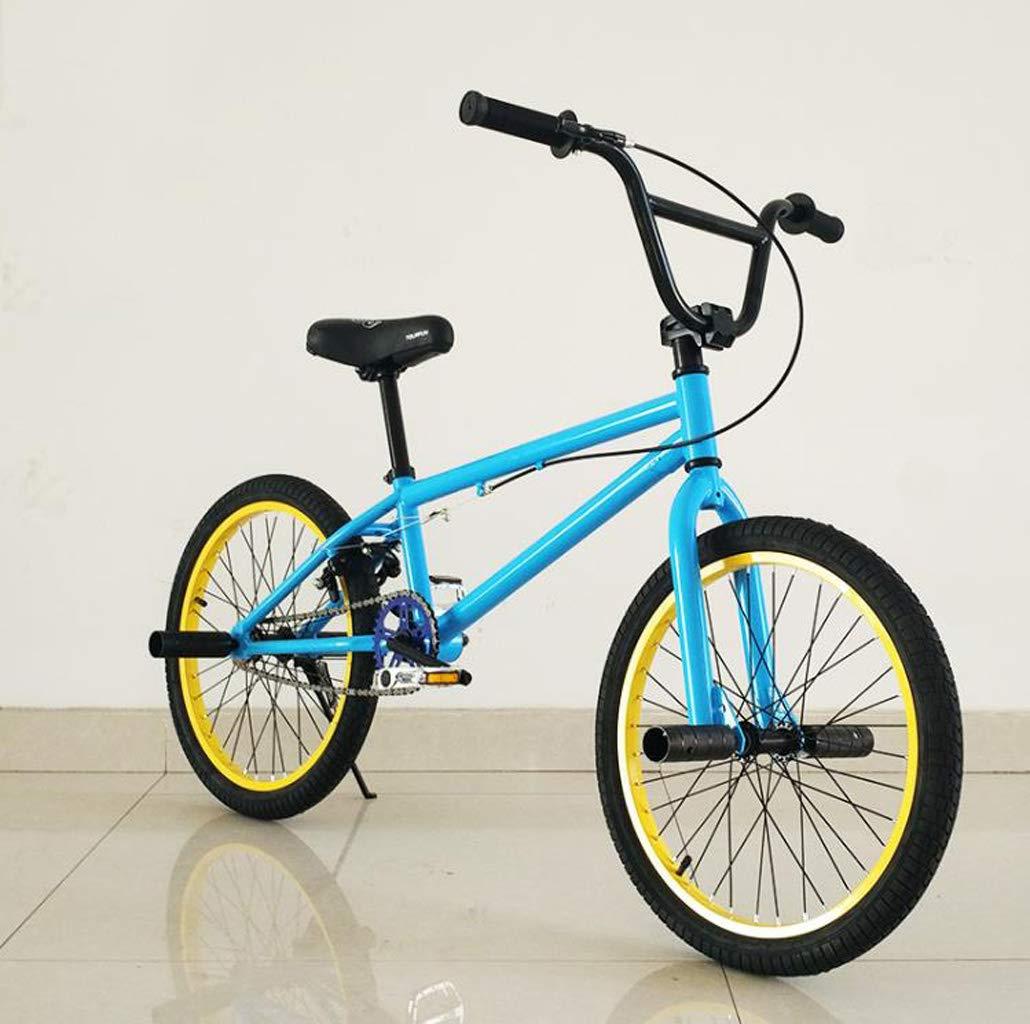 Adultos de 20 Pulgadas Bici de BMX, Profesional de Grado Stunt Acción BMX Bicicletas, Motos de Calle de BMX, aptas para Principiantes Nivel para los Jinetes avanzados,Y: Amazon.es: Deportes y aire libre