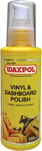 Waxpol CVD820 Vinyl and Dashboard Car Polish (100 ml)