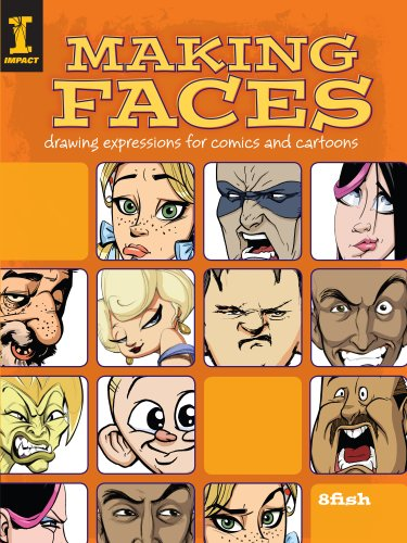 Making Faces: Drawing Expressions For Comics And Cartoons (English Edition)