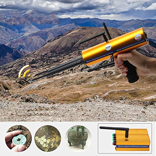 Affordable AKS Long Range Gold Metal Detector Gems Diamond Finder high Sensitivity and Stability with Six Antennas Handheld Type